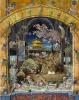 Автопортрет в студии в Пекхэме (грёзы по мотивам «Святого Иеронима» Антонелло да Мессины) II