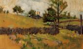 Джон Генри Твахтман. Весенний пейзаж