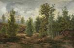 Ivan Ivanovich Shishkin. The edge of the forest
