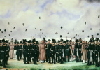 Павел Андреевич Федотов. Встреча в лагере лейб-гвардии Финляндского полка вел. Кн. Михаила Павловича 8 июля 1837