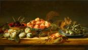 Франс Снейдерс. Натюрморт с персиками