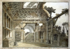 Шарль-Луи Клериссо. Эскиз росписи восточной стены комнаты-руины