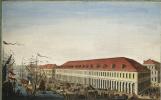 И. П. Еляков. Вид Биржи и Гостиного двора