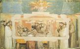 Джотто ди Бондоне. Смерть и вознесение Святого Франциска