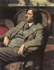 Portrait of a man in a chair