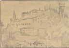 Мстислав Валерьянович Добужинский. Флоренция. 1921