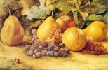 Джон Уильям Хилл. Натюрморт с виноградом