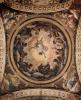 Фрески в церкви Сан Джованни Евангелиста в Парме, роспись купола, видение св. Иоанна на Патмосе, общий вид
