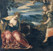 The Annunciation: The Angel and Wife Manoes