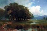 Алексей Кондратьевич Саврасов. Швейцарский пейзаж с лошадьми