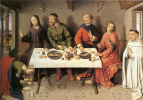 Дирк Баутс. Христос в доме Симона фарисея.  ок.1440-1450