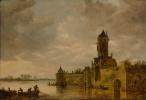 Ян ван Гойен. Замок на реке