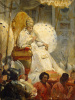 Solemn carrying of Pope Pius VIII in St. Peter's Cathedral in 1829 g
