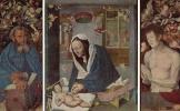 Альбрехт Дюрер. Алтарь Девы Марии, средняя часть и створка, общий вид