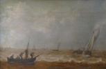Ян ван Гойен. Вид на залив