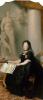 Портрет императрицы Марии Терезии у статуи Мира