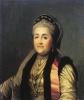 Портрет Екатерины II в шугае и кокошнике