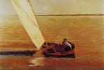 Томас Икинс. Прогулка по воде
