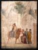 The rape of Europe (Europe on the bull). Pompeian fresco