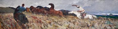Петр Иванович Мордвинцев. Степные кони