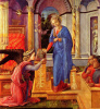 The Annunciation with donors