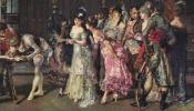 Испанская свадьба (деталь)