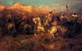 Адольф Шрейер. Арабские всадники