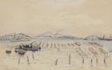Henri Manguin. Oyster farming