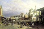 Петр Петрович Верещагин. Рынок в Нижнем Новгороде