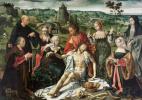 Йос ван Клеве. Алтарь оплакивания Христа. 1520-1525 центральная панель