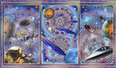 Юрий Николаевич Сафонов (Yury Safonov). Триптих «Кванты цивилизаций или мгновения Вечности»