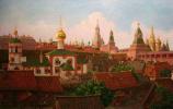 Подол Московского Кремля в 17 веке