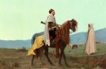 Гюстав Буланже. Арабский всадник