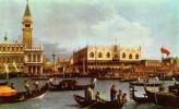"""Джованни Антонио Каналь (Каналетто). Венеция, возвращение """"Буччинторо"""""""