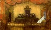 """Николай Николаевич Сапунов. Мистическое собрание. На сюжет мистической драмы А. Блока """"Балаганчик"""""""