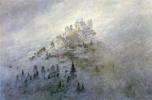Caspar David Friedrich. Morning mist in the mountains