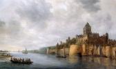 Ян ван Гойен. Вид на замок Ванкельхоф