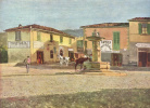 View of the Piazzetta in Settignano