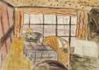 Leonora Carrington. Untitled (Table by the window)