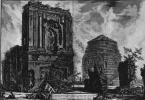 Джованни Баттиста Пиранези. Вид гробницы Лициния на Виа Аппиа Антика