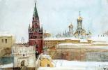 Василий Иванович Суриков. Вид на Кремль зимой