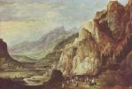 Йос де Момпер Младший. Чудесное спасение императора Максимилиана I