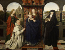 Мадонна с Младенцем, святыми и донатором