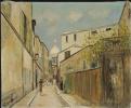 Базилика Сакре-Кёр и улица Сен-Рюстик