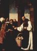 Цикл картин для монастыря конгрегации св. Иеронима в Гуадалупе. Сакристия. Милосердие фра Мартина де Вискайя