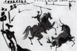 Ю. Пуджиес. Лошадь и бык