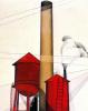 Труба и водонапорная башня