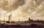 Ян ван Гойен. Вид на Дордрехт