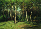 Ефим Ефимович Волков. Полдень в лесу