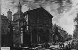 Джованни Баттиста Пиранези. Вид с церковью Сан Себастьяно